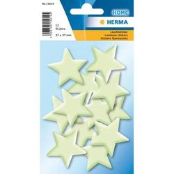 Sticker Leuchtsticker Sterne Mini VE=12 Stück