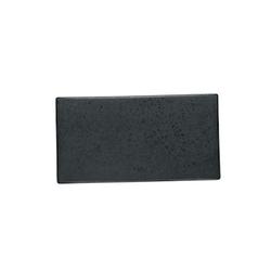 Bitz Tapasteller 30x16 cm Schwarz Steingut