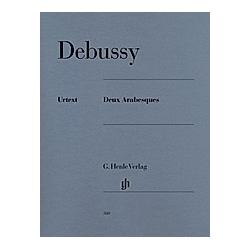 Deux Arabesques L 66  Klavier. Claude - Deux Arabesques Debussy  - Buch