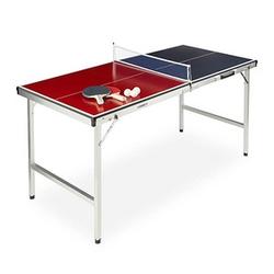 relaxdays Tischtennisplatte   mehrfarbig