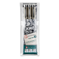 Sakura Fineliner Zentangle Tool, 3 Stück