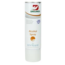 Dreumex Omnicare Alkohol Spray Reinigungsspray, Hochwirksames Reinigungsspray, 400 ml - Patrone