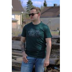 VOLCANO T-Shirt T-Route grün L