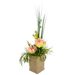 Kunstpflanze Seerosen Seerosen, I.GE.A., Höhe 50 cm