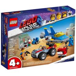 LEGO Movie Konstruktions-Spielset Lego 70821 THE MOVIE 2 Emmets und Bennys Bau- und