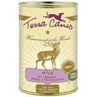 Terra Canis Wild mit Vollkornnudeln Preiselbeeren & Kürbis 12 x 400 g