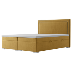 Łóżko kontynentalne z pojemnikiem Kartus