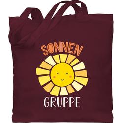 Shirtracer Umhängetasche Kindergartengruppe - Sonnengruppe - weiß - Kindergarten - Jutebeutel lange Henkel