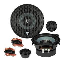 Hifonics Multiroom-Lautsprecher (Hifonics ZS4.2E - 10cm Kompo Lautsprecher System)