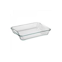 SIMAX Auflaufform Glas Auflaufform Brat- und Backschale 35 x 27 cm eckig, Glas