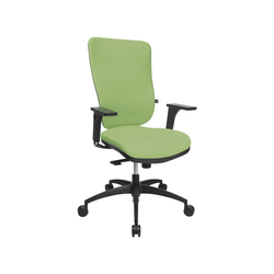 TOPSTAR Schreibtischstuhl Soft Pro 100 mit Bandscheibensitz grün