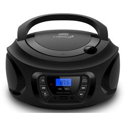 Cyberlux CL-600 tragbarer CD-Player (CD-Player, Tragbarer CD-Player, FM Radio mit MP3 USB)
