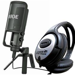 RODE Microphones Mikrofon Rode NT-USB Mikrofon + Kopfhörer