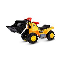 COSTWAY Spielzeug-Aufsitzbagger, Schaufelbagger Sandbagger 44.5 cm x 31.5 cm x 85 cm