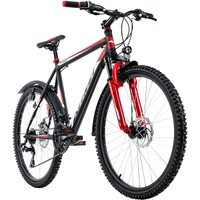 """KS-CYCLING Mountainbike Hardtail 26'' Xtinct schwarz-rot RH 46 cm"""""""