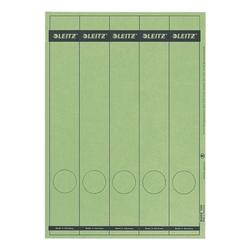 Ordnerrücken-Etiketten grün, Leitz, 5 cm