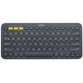 Logitech K380 Bluetooth Multi-Device Tastatur DE dunkelgrau (920-007566)