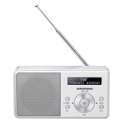 Grundig Music 5000 DAB+ Portables Radio weiß Radio