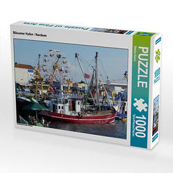 Büsumer Hafen / Nordsee Lege-Größe 64 x 48 cm Foto-Puzzle Bild von Martina Busch Puzzle