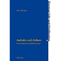 Aesthetics and Aisthesis - Buch
