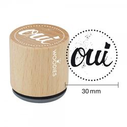 Woodies Stempel - Oui WE1205