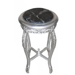 Barock Beistelltisch Silber ModY7  72 x 40 cm