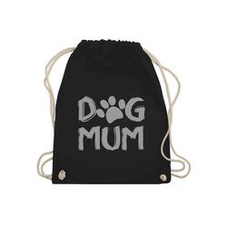Shirtracer Turnbeutel Dog Mum - Hunde - Turnbeutel - Jutebeutel & Taschen, jute turnbeutel