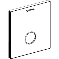 Schell Frontplatte LINUS D-SC-V chrom