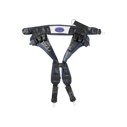 Eurotramp® Saltogürtel, Blau, bis 90 kg Körpergewicht