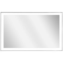 Vasner Infrarotheizung Zipris S LED 900, 900 W, Spiegelheizung mit Chrom-Rahmen und Licht