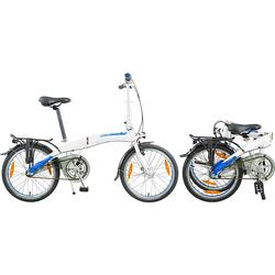 Dahon Faltrad CURVE i3, 3 Gang Nabe Shimano Nexus Schaltwerk, Nabenschaltung weiß Falträder Klappräder Fahrräder Zubehör Fahrrad