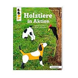 Holztiere in Aktion. Armin Täubner  - Buch