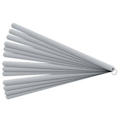 Fühlerlehre Blatt-St.0,05-0,5mm STA L.200mm Bl.8 St.PROMAT