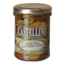 (18.28 EUR/kg) Castellino Olive Mix Italia  - 180 g