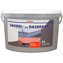 Wilckens Farben Fassadenfarbe Sockel-& Dachfarbe, UV-stabil