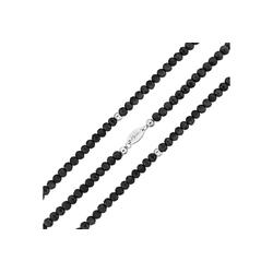 MY iMenso Wickelarmband mit facettierten Kristallen schwarz