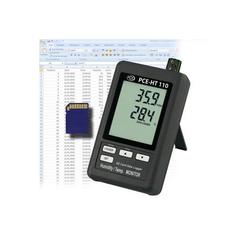PCE Instruments Feuchtigkeitsmesser PCE Hygrometer PCE-HT110 misst Temperatur und Feuchte
