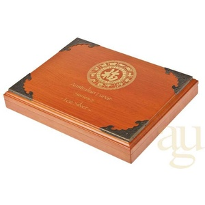 Lunar II Münzbox Holz für 12x 0,5oz Silbermünze