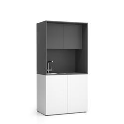 Nika küche mit waschbecken und wasserhahn 1000 x 600 x 2000 mm,