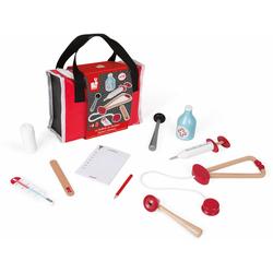Janod Spielzeug-Arztkoffer bunt Kinder Ab 3-5 Jahren Altersempfehlung Rollenspielzeug
