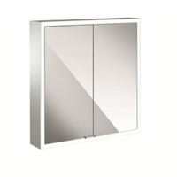 EMCO Asis Prime 60 cm silber Aufputz 2 Türen