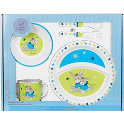Sterntaler® Kindergeschirr-Set Geschirrset Esel Erik, 5 t-lg.