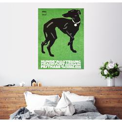 Posterlounge Wandbild, Hunde Ausstellung 1912 60 cm x 80 cm
