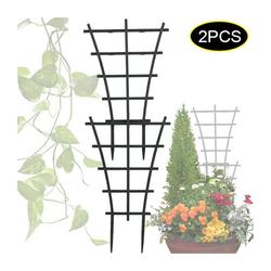 Gotui Pflanzentreppe, 2 Stück DIY Gartenpflanze Klettergitter Kunststoffpflanze Unterstützung Gartengitter