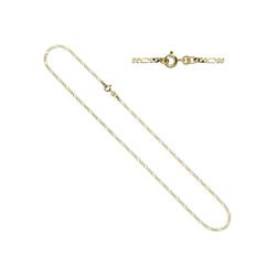 JOBO Goldkette, Figarokette 333 Gold 50 cm 2,3 mm