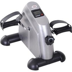 HOMCOM Pedaltrainer mit LCD-Display 39 x 40 x 31 cm (BxTxH)   Hometrainer Fitnessgerät Mini Bike Fahrradtrainer