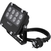 Eurolite LED IP FL-8 blau 60° | Outdoor-Scheinwerfer (IP56) mit 8 x 1-Watt-LED und 60° Abstrahlwinkel