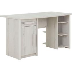 Gami Schreibtisch Montana weiß 135 cm x 74 cm x 70 cm