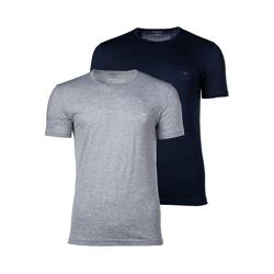Emporio Armani Unterhemd Herren T-Shirt 2er Pack - Crew Neck, Rundhals, L