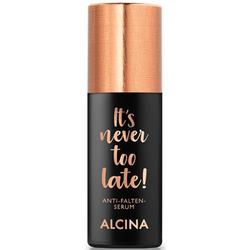 Alcina It's Never Too Late Anti-Wrinkle Serum 30ml